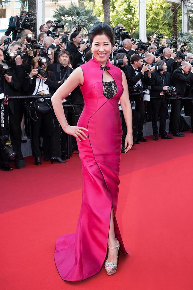 中国首位好莱坞女制片人吴冰女士应邀删减第70届戛纳电影节色戒未出席高清电影图片
