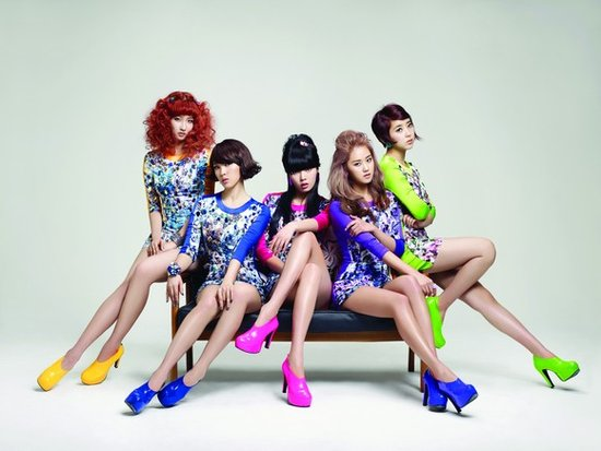 Dream Concert将登陆上海 4MINUTE期待见到歌迷