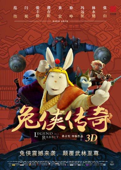 《兔侠传奇》今上映 耗资过亿领衔国产动画混战