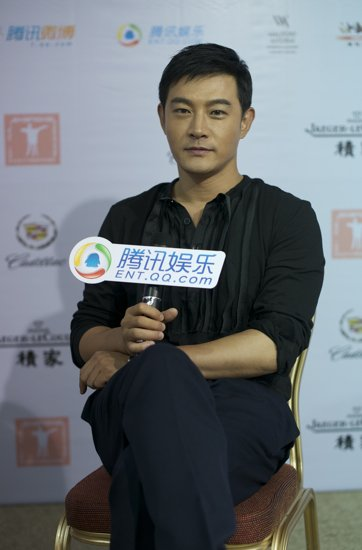 电影节专访黄维德:拍戏重心转移做精品电影