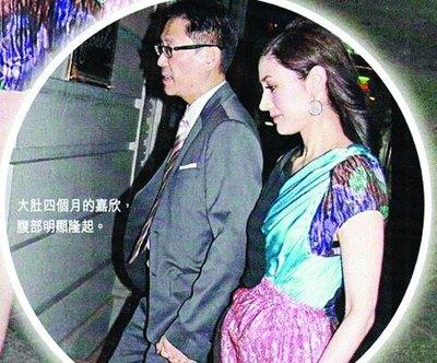 港媒曝李嘉欣腹中是女孩 许晋亨:我更喜欢女孩