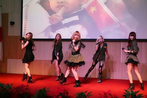 lotte girls关注公益 献声中韩日儿童文化活动图片