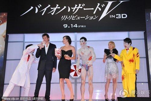 李冰冰缺席新片日本首映 原因:钓鱼岛是中国的