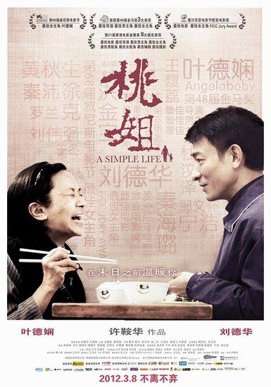 华鼎奖华语电影单项奖提名出炉 《桃姐》成热门