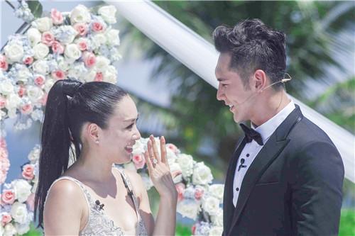 《如果爱》迎来首场婚礼 张伦硕现场求婚钟丽缇