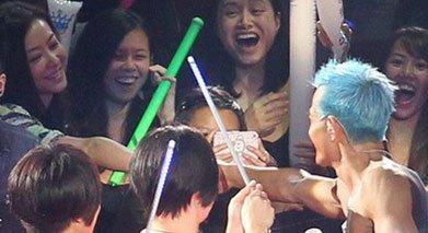 熊黛林只能以粉丝的身份出席郭富城的演唱会。