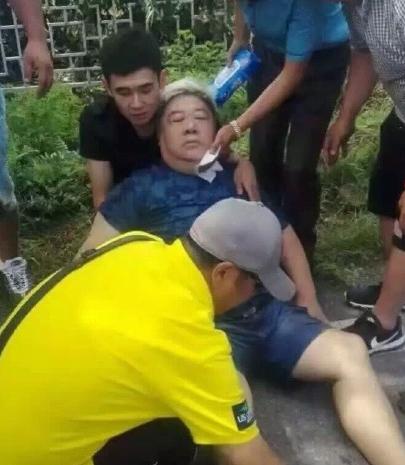 李琦刘金山遇车祸无大碍 李琦司机当场死亡