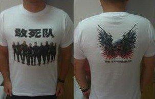 《敢死队》票房突破过两亿 影城观影送T恤衫