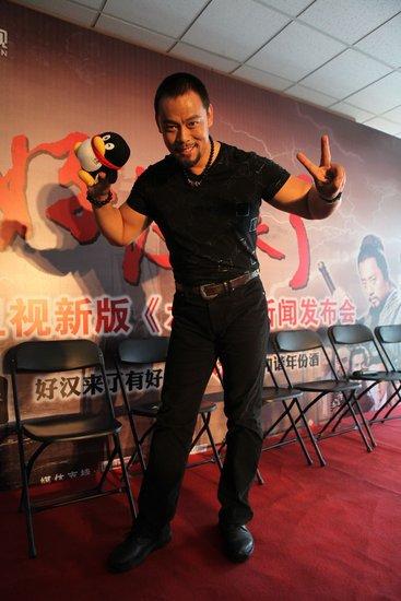 晋松谈《水浒》:为保持鲁智深身材自制健身房