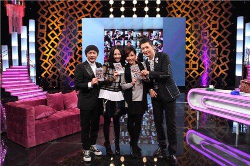 张卫健张茜婚后同台 《超级访问》揭浪漫婚姻