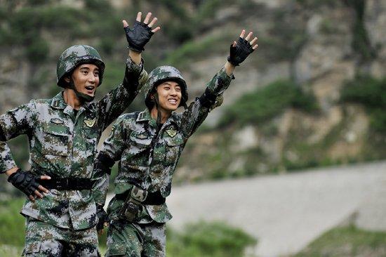 励志精神,展现了中国新生代军人独特的个性和崭新的图片