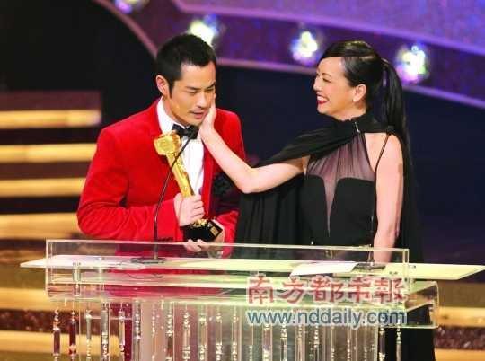 TVB颁奖礼完满落幕 胡杏儿获奖后发表爱的宣言