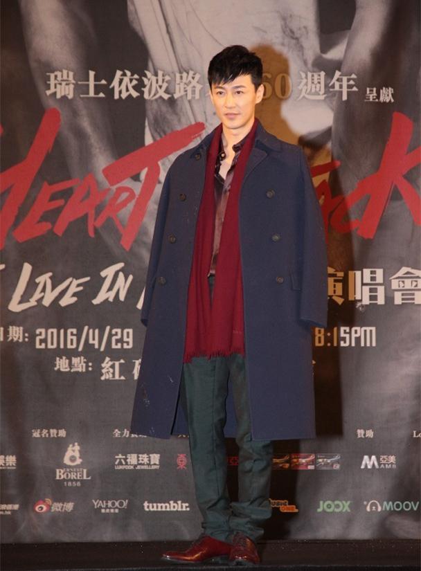林峯香港演唱会举发布会出惊喜 再攻红磡连嗨三天