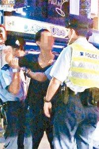 林峰泡夜店友人与记者生冲突 警方介入调停