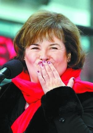 苏珊大妈月底来华演出 唱三首歌收入预计过百万