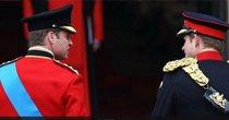 威廉王子穿传统军服抵达教堂