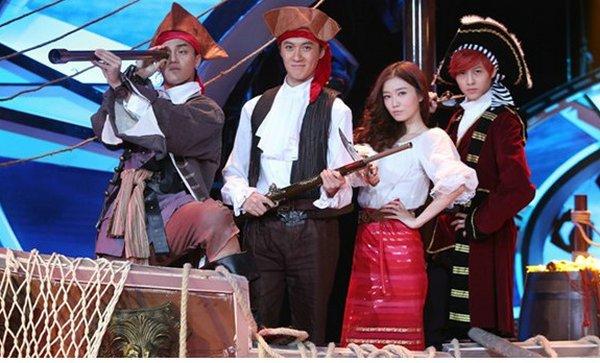《年代秀》李祥祥携手JPM王子 演绎海盗传奇