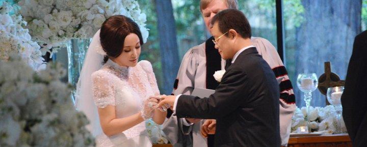 2013年8月,刘晓庆与王晓玉在旧金山举行了庄严隆重的婚礼。