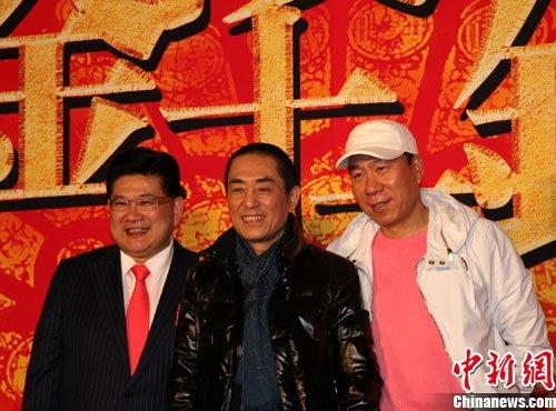 张伟平放言《金陵十三钗》国内票房超10亿