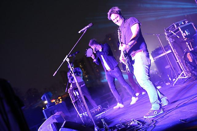 Colorama城市艺术音乐节开唱 摇滚电子唱大旗
