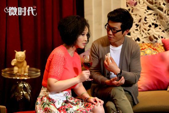 王骁《微时代》不解颜艺遇表情旧爱全是戏挑战的表情包图片