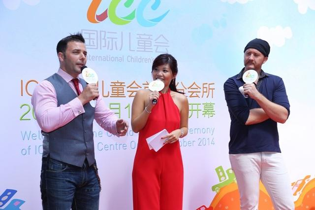 TVB郭柏荣布伟杰助阵ICC 献唱人气攀升