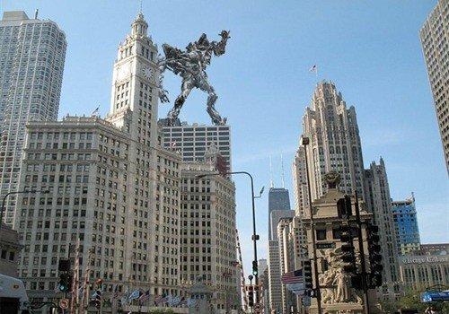 《变形金刚3》宣布7月4日在芝加哥正式开机拍摄