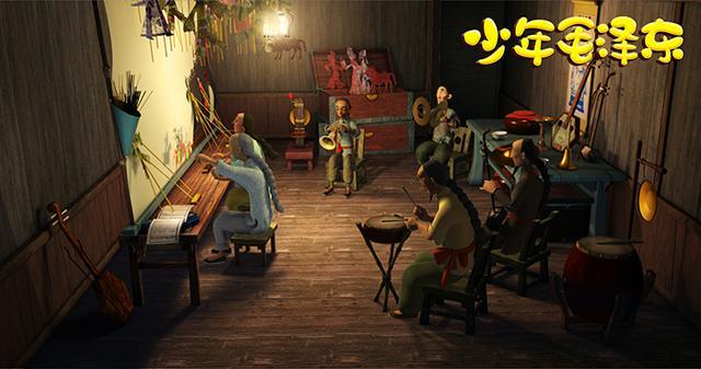 《少年毛泽东》首日口碑获赞 成同档期热门影片