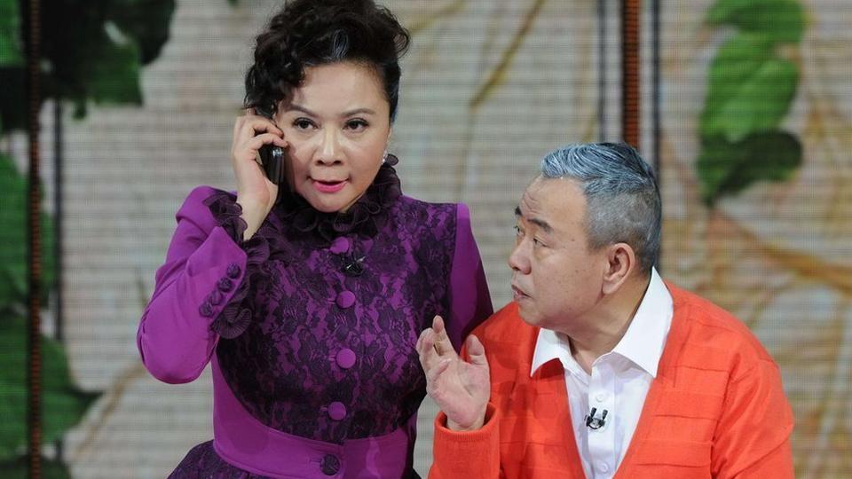 蔡明、潘长江合作小品《想跳就跳》