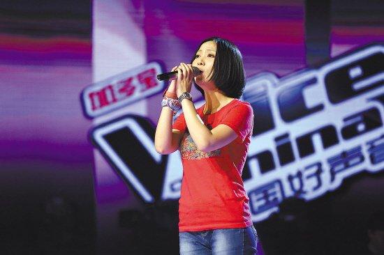 青歌赛冠军姚贝娜上好声音 刘欢钦点献声甄嬛传