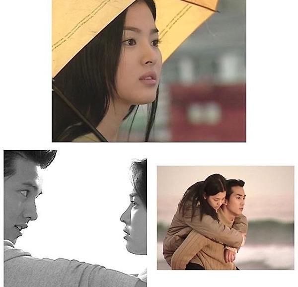 《蓝色生死恋》播出16周年 宋慧乔晒剧照纪念