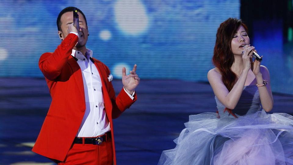 杨坤、张靓颖合唱歌曲《一辈子朋友》