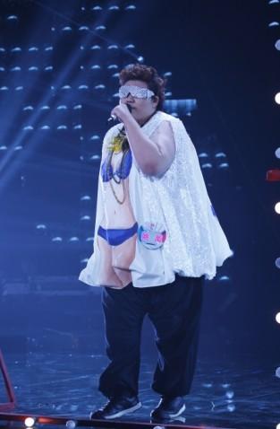 340斤姚禹进完美声音10强 宋柯:他是励志歌手