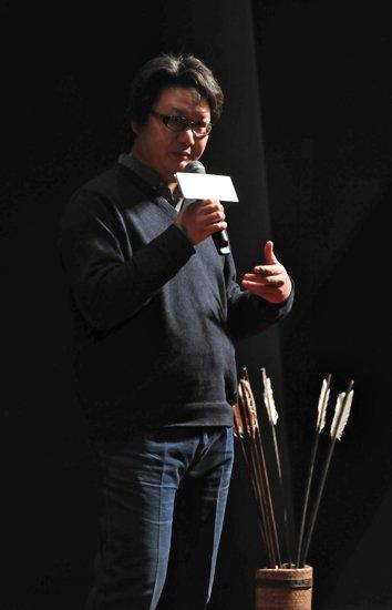 《倭寇的踪迹》24日上映 宋洋发布会上亮刀法