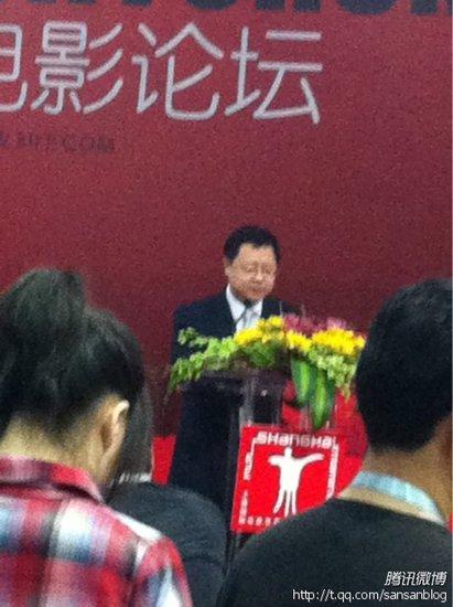 电影节产业论坛第二场 多德称中国电影已成熟