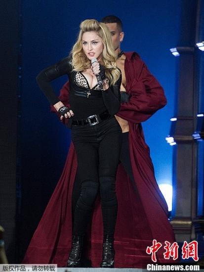 麦当娜下月在俄开演唱会 俄议员警告其别脱裤子