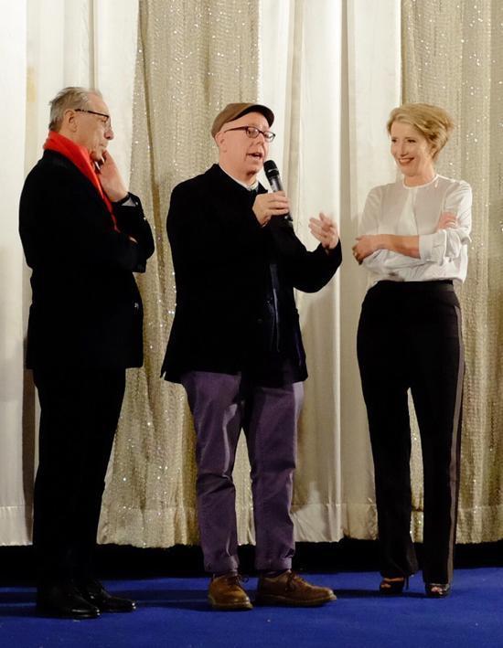 柏林电影节放《理智与情感》悼里克曼 李安寄