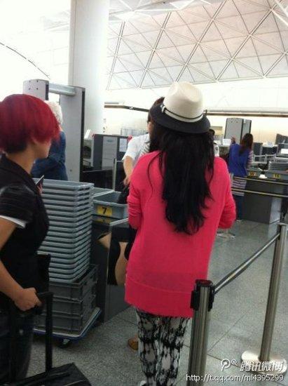 章子怡感谢好友支持 现身香港击碎禁出境传闻