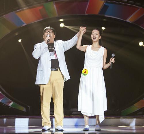 歌手杨光散发正能量 首演电视剧《你是我的眼》