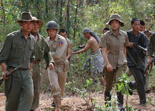 《中国远征军》再现残酷战争 李玥巾帼不让须眉