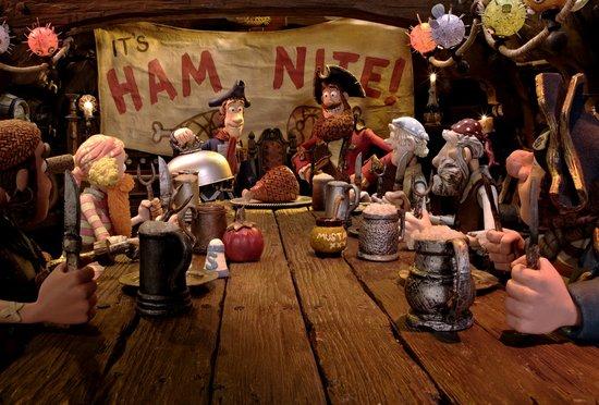 3D《神奇海盗团》六一热映 合家欢影片受欢迎