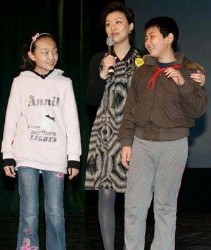 杨澜和小朋友
