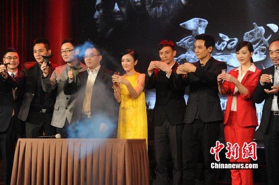 陆川否认暗讽冯小刚 自信《王的盛宴》不会失败