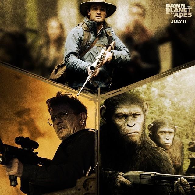 《猩球崛起2》史诗特辑 打造浩大真实的人猿星球