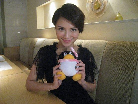 专访《梦游3D》女主角李心洁:我喜欢看惊悚片