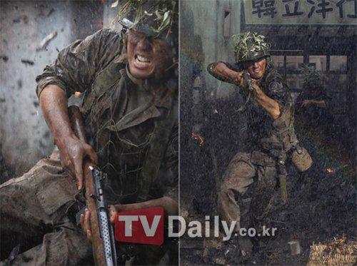 KBS战争剧《战友》曝光 重现平壤战役(图)