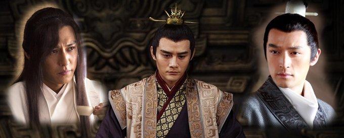 """王凯、胡歌和靳东组成高颜值""""铁三角"""",以""""男男CP""""的方式疯狂吸粉。"""