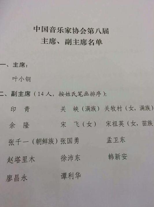 宋祖英再任音乐协会副主席 金铁霖就任顾问