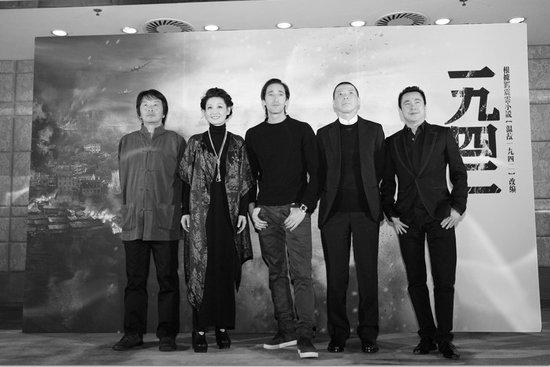 《1942》首映被评压抑 冯小刚:影片不需要掌声