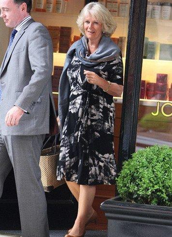 威廉王子继母卡米拉修整发型 新形象示好准媳妇
